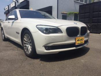 納車BMW7シリーズ